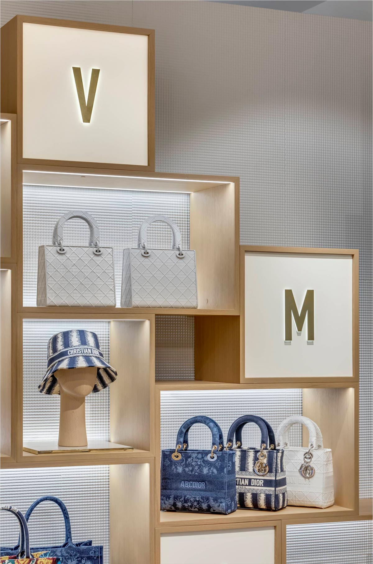 Dior pop-up store in Soho, New York-display
