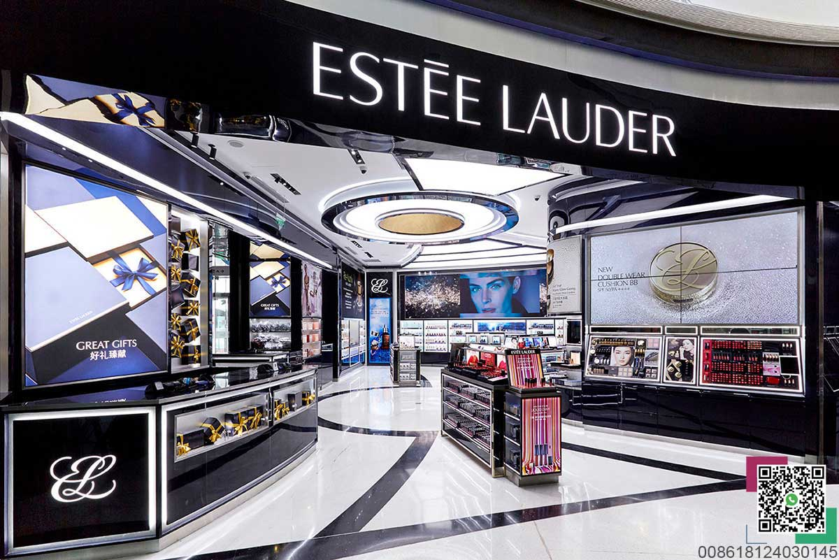 Luxury Estée Lauder Flagship Store in Haitang Bay, China