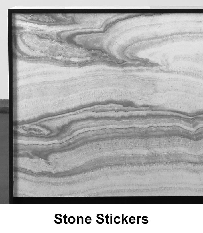 Stone Stickers material