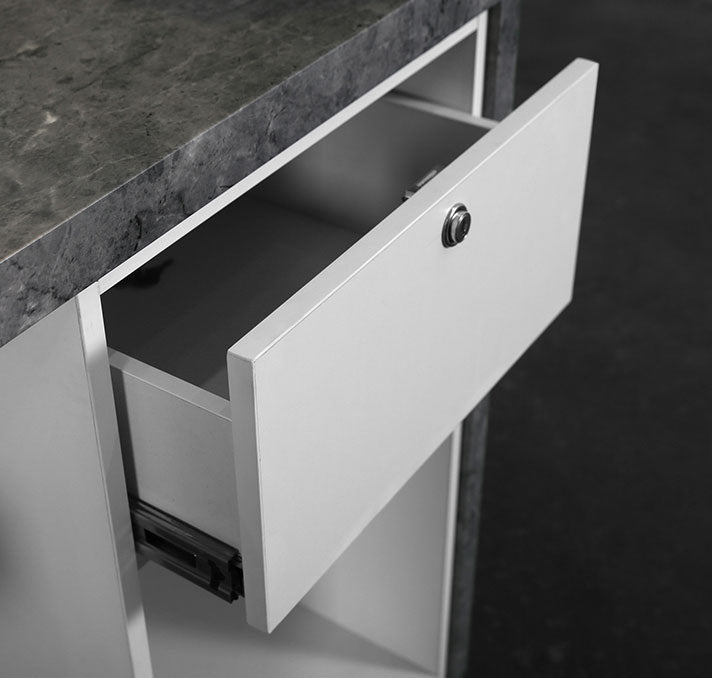 Drawer with lock, E1 grade environmental protection ecological board