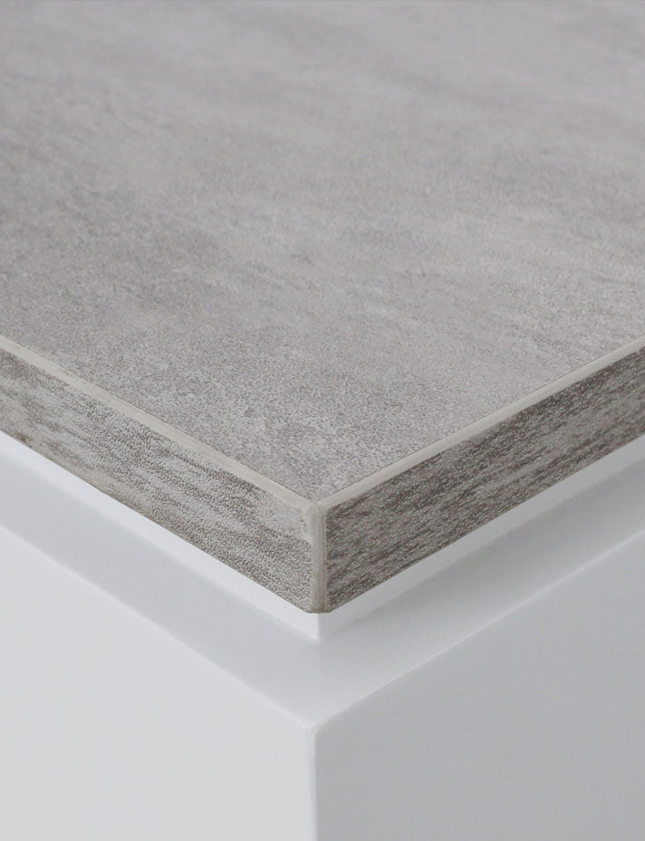 Cement gray paint-free decorative surface