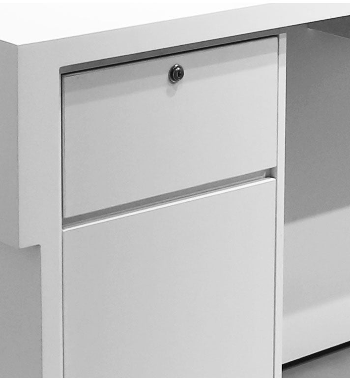 Drawer with lock