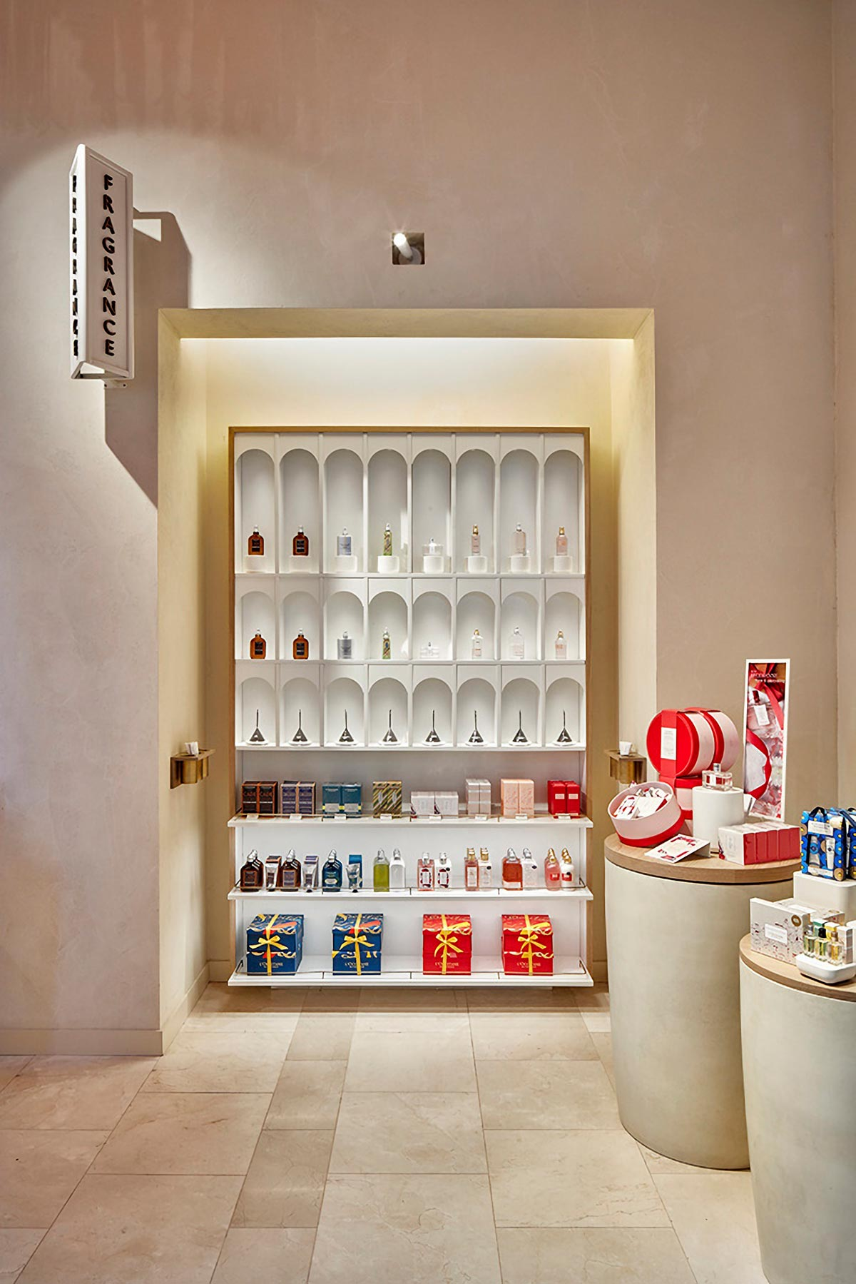 An experiential community store and flagship location in New York City's L'Occitane Flatiron neighborhood