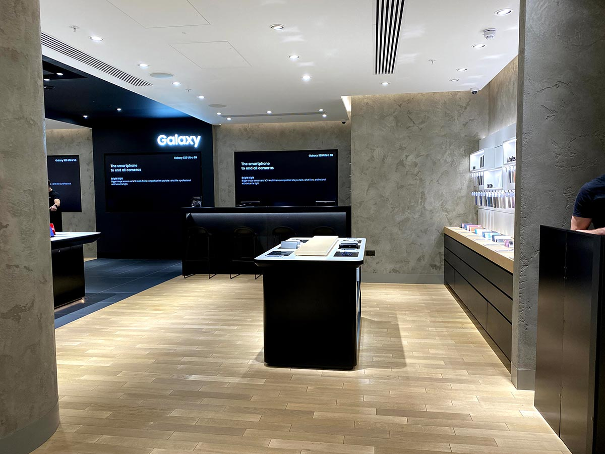 Samsung London Westfield Experience Store