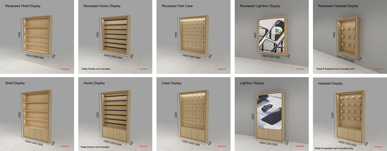 You May Like Apple Cell Phone Store Wall Display Cabinet