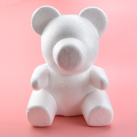 rose bear foam mold