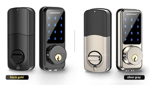 smart keypad door lock