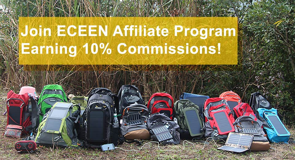 Join ECEEN affiliate program and eary 10%  commissions work on line