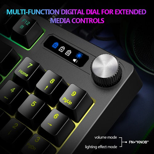 Gaming Keyboard Knob