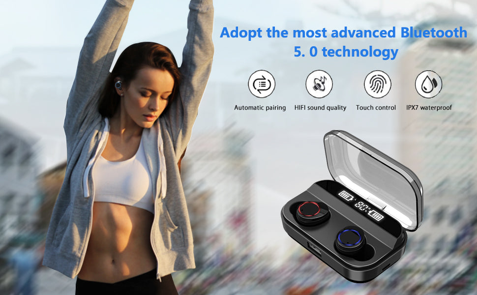NPET Wireless Earbuds
