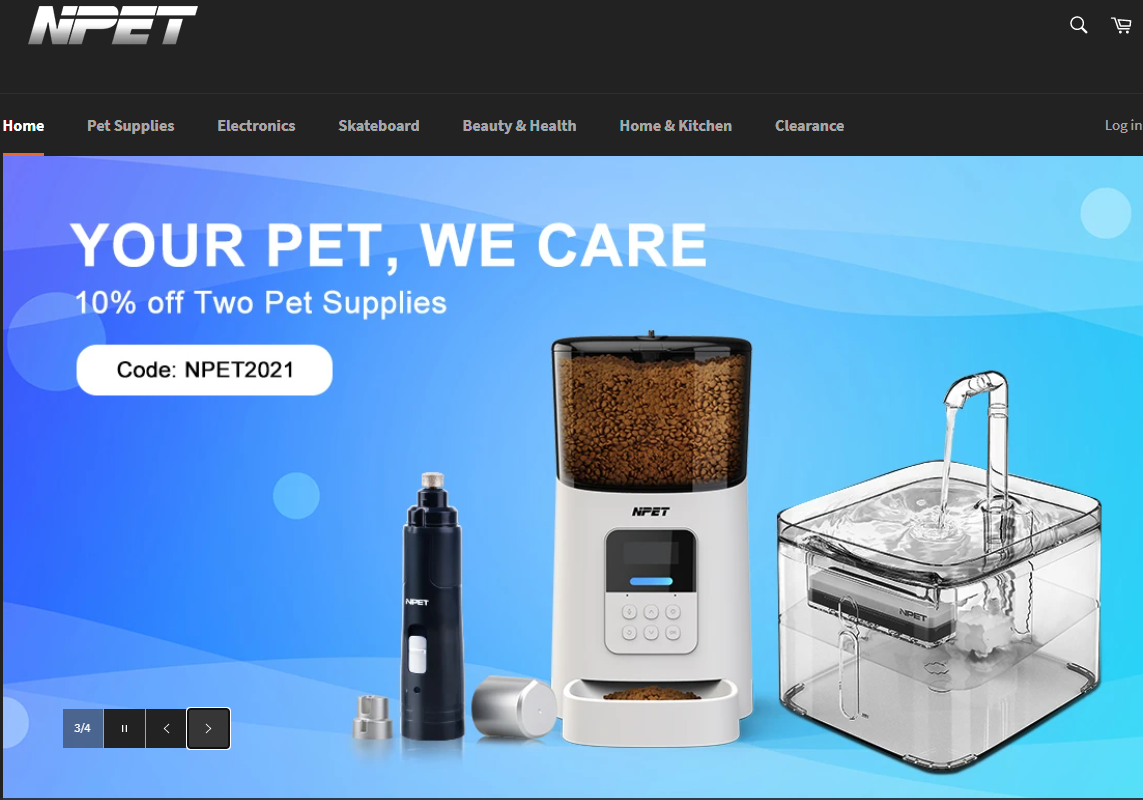 npet home page