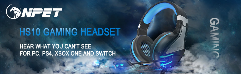 NPET gaming headset