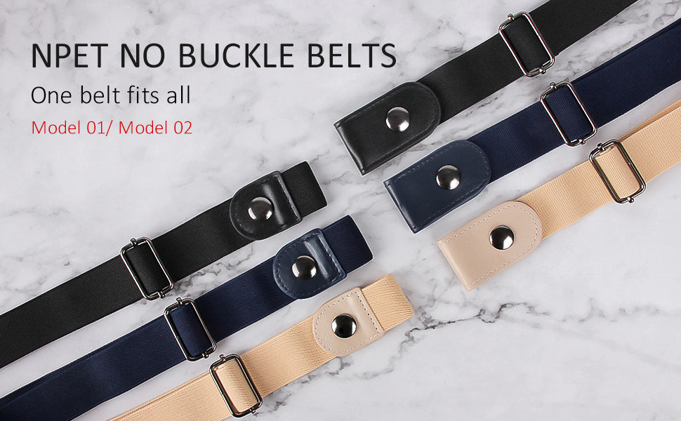 NPET no buckle belt