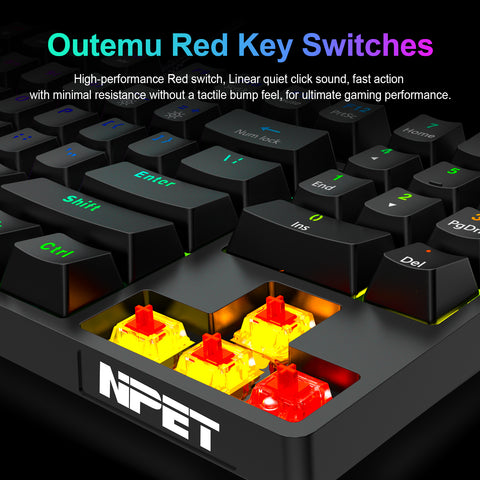 keyboard key switches
