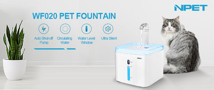 npet cat water fountain upgrade version