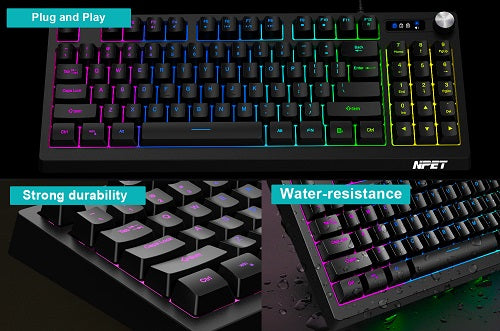 water-resistant keyboard