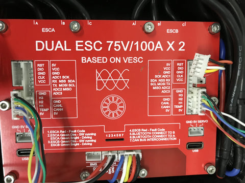 correct hall sensor cable connections in ubox