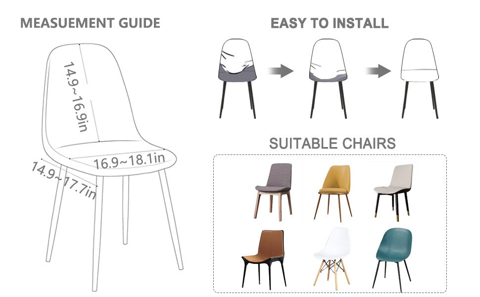 Shell-Chair-Covers