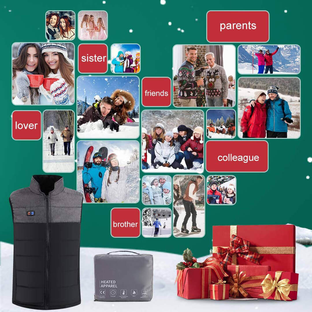 heated vest for gift