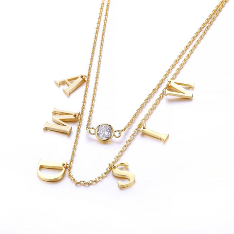 Golden Name Necklace