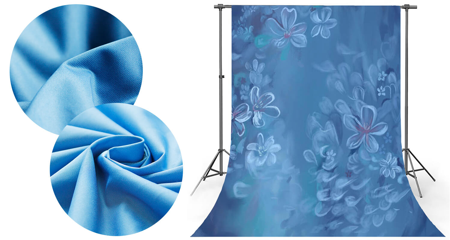 wrinkle resistant fabric photography backdrop