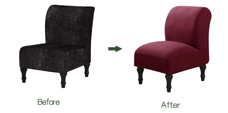 Armless Accent Chair Slipcover