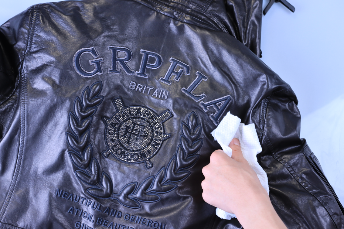 how to wax a leather jacket