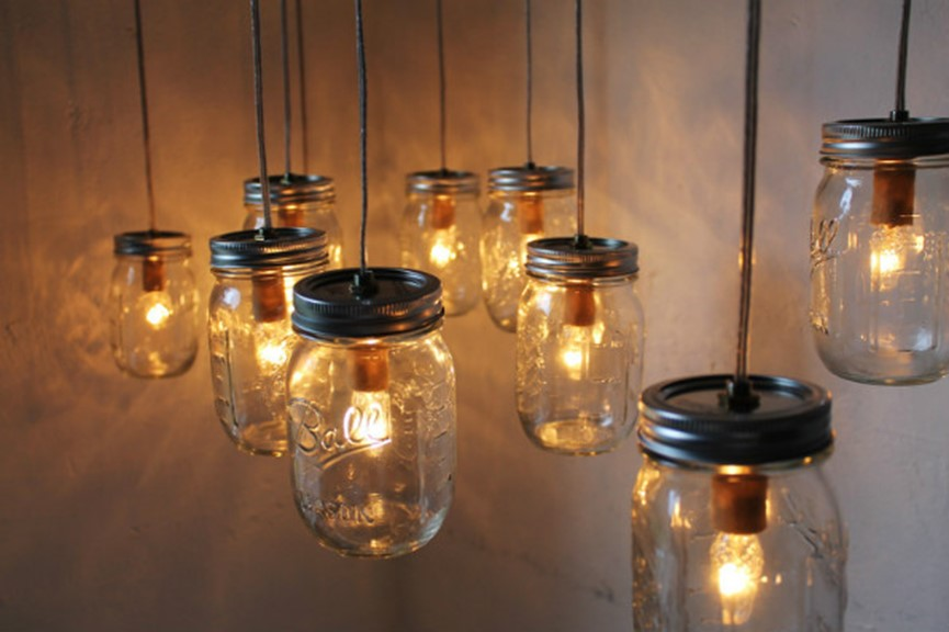 mason jar customized lights