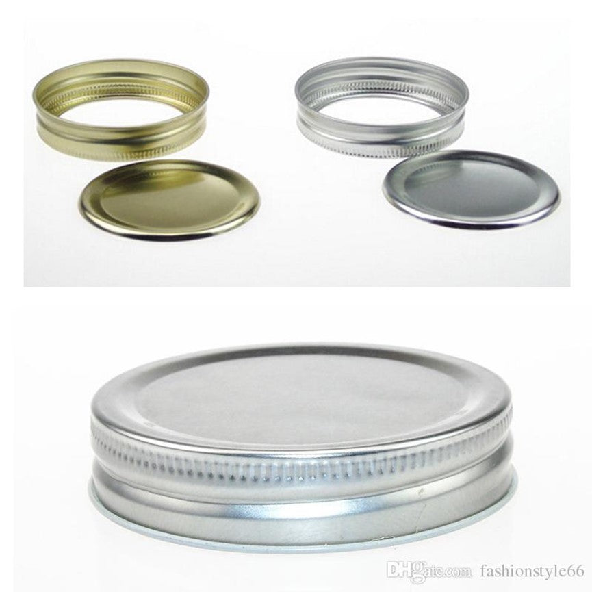 mason jar lids with band