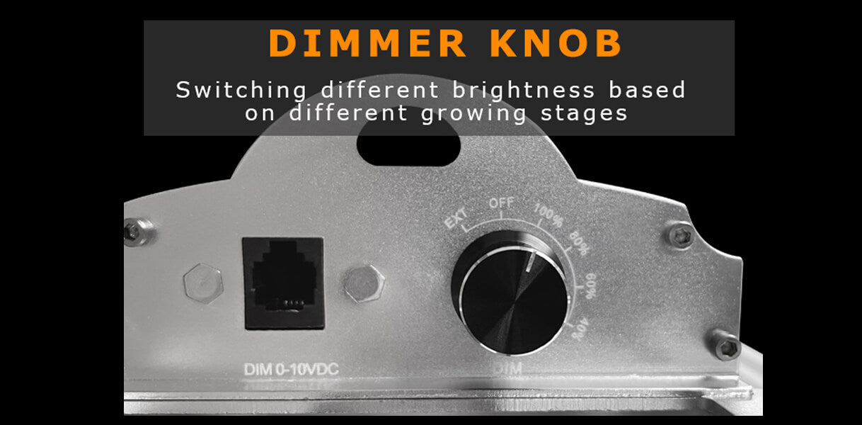 led grow light dimmer knob