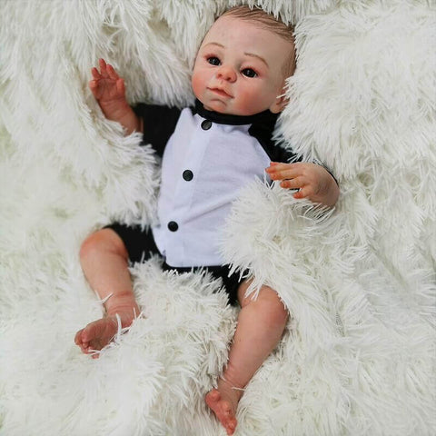 your first reborn doll