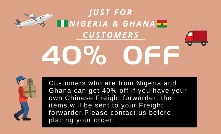 40% off Just For  Nigeria & Ghana Customers