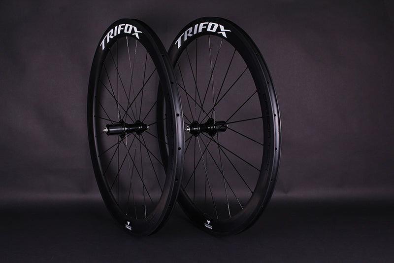 Quick Release Carbon Fiber Road Bike Wheelset