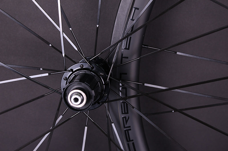 Trifox Carbon Road Bike Wheelset with good performance hubs