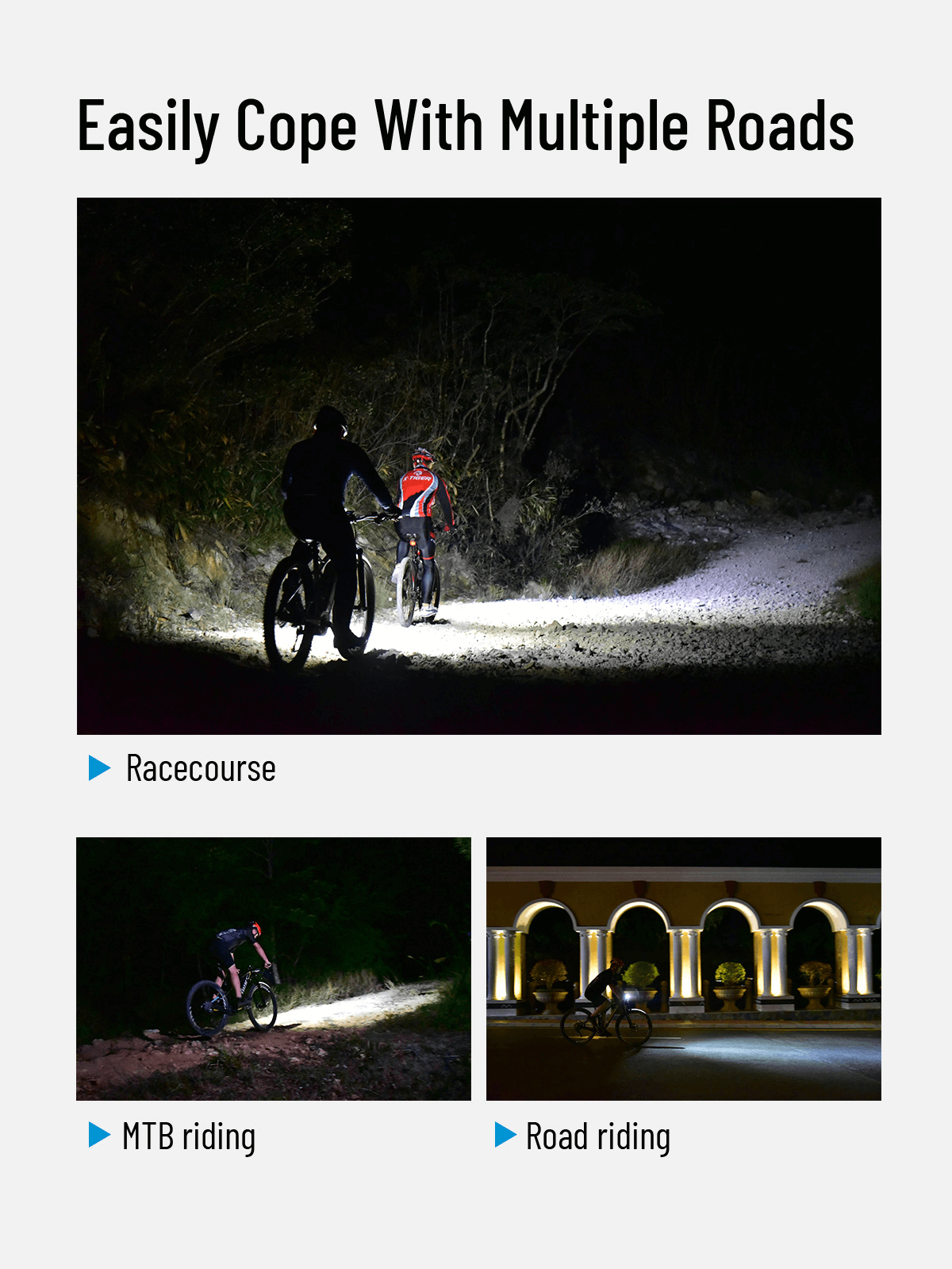 WUBEN B1 Professional Bicycle Light Continuous Emitting 3600 Lumens Rechargeable Waterproof Bike Light