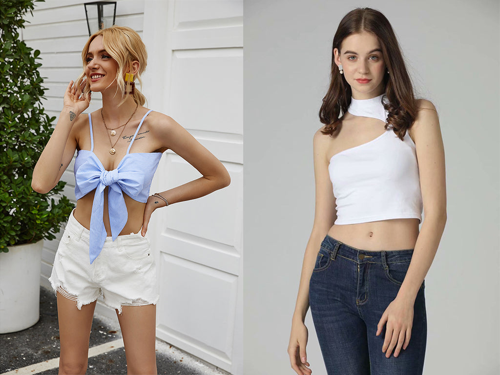 women summer crop tops