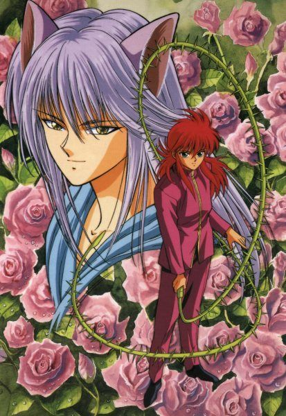 2.Yoko Kurama-handsome fox boy