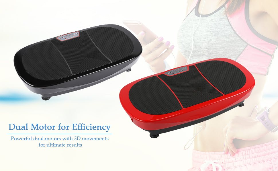 3D Fitness Whole Body Vibration Plate