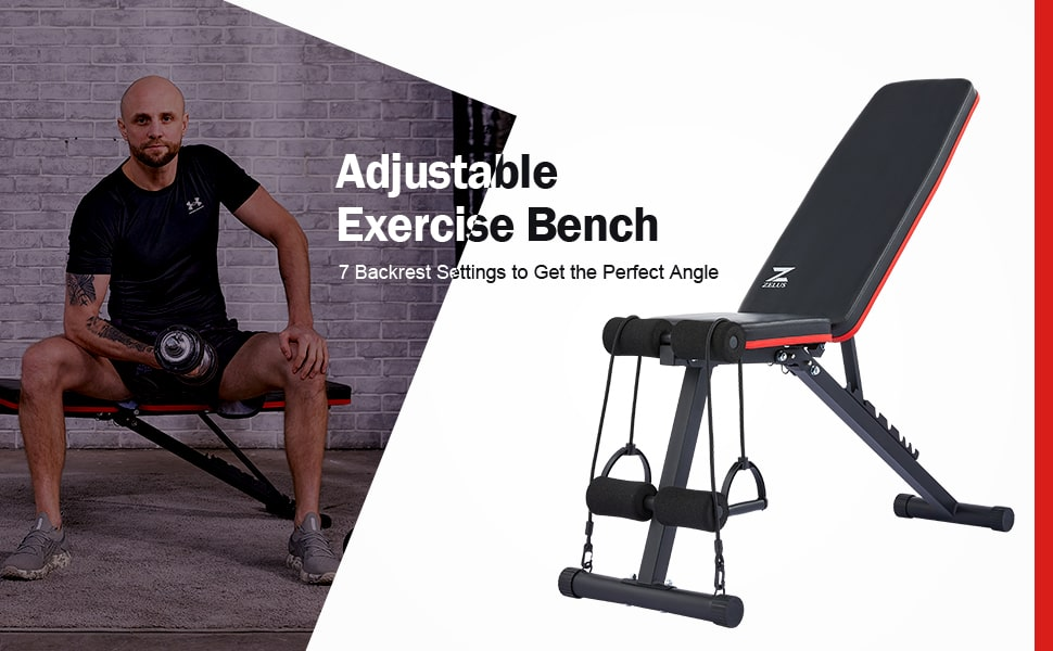 adjustable exercise weight bench