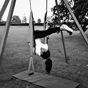 Aerial Yoga Swing Using