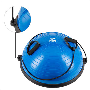 Balance Ball With Detachable Resistance Bands