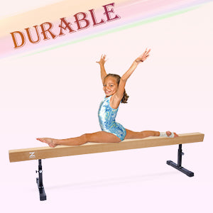 Balance Beam with Foams and Colorful Hurdles