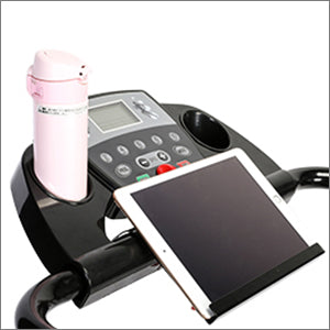 Electric Folding Treadmill With Cup Holder & Device Holder