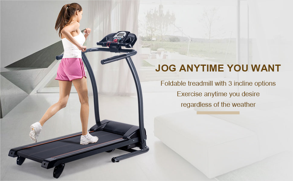 Electric Treadmill Incline Motorized