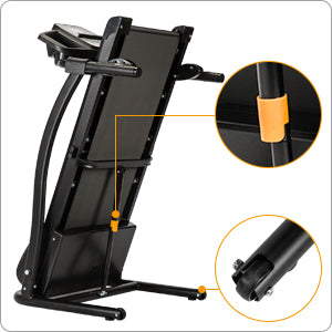 Folding Treadmill Soft-Drop Smart System