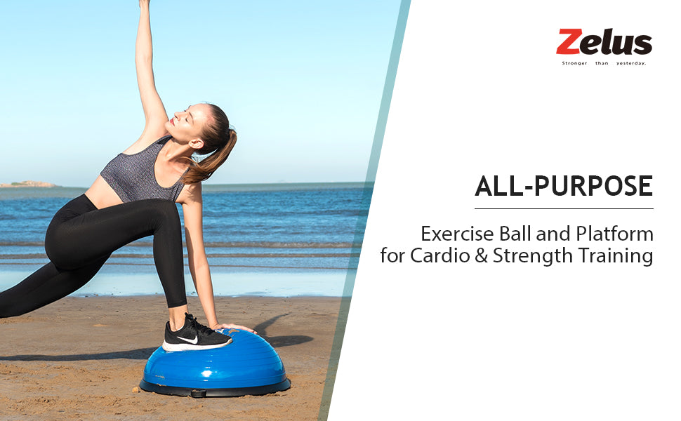 Half Yoga Exercise Ball