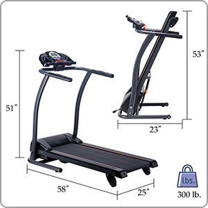 High Weight Capacity Treadmill