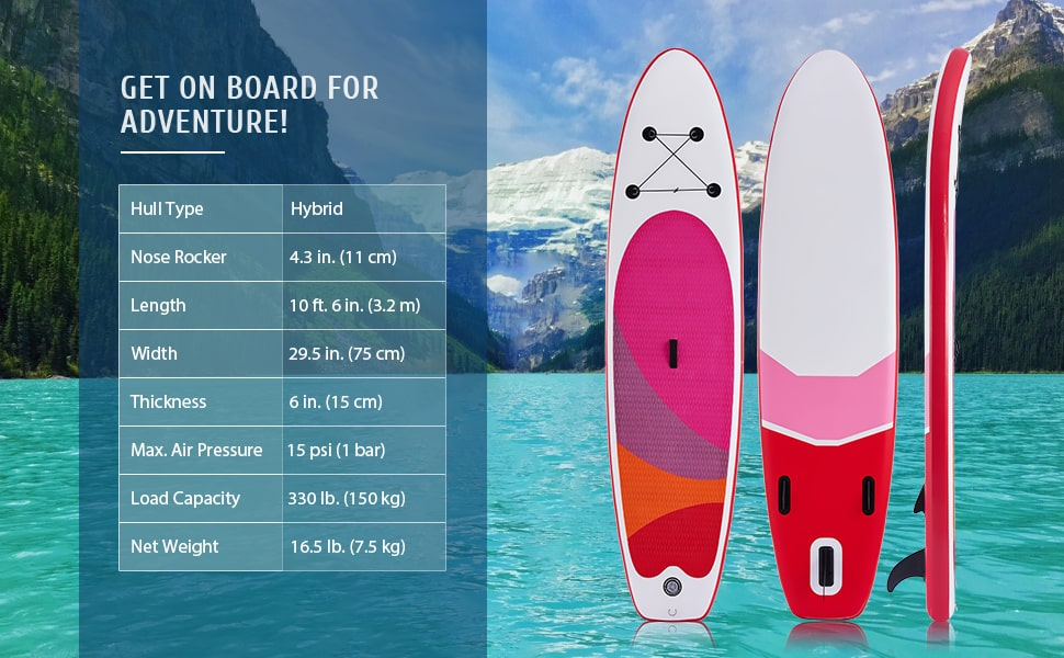 Stand-Up Inflatable Paddleboard