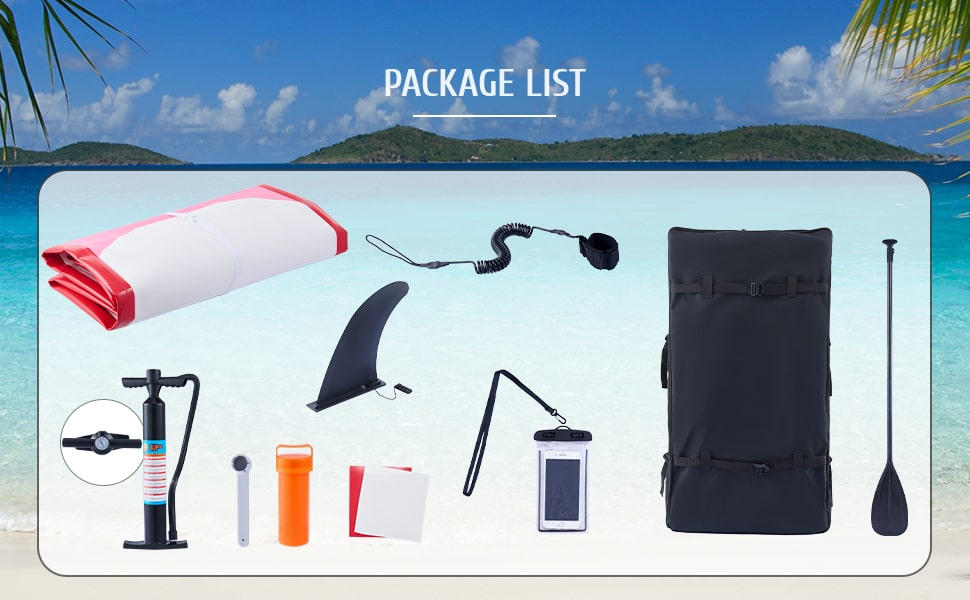 package surfing paddleboard