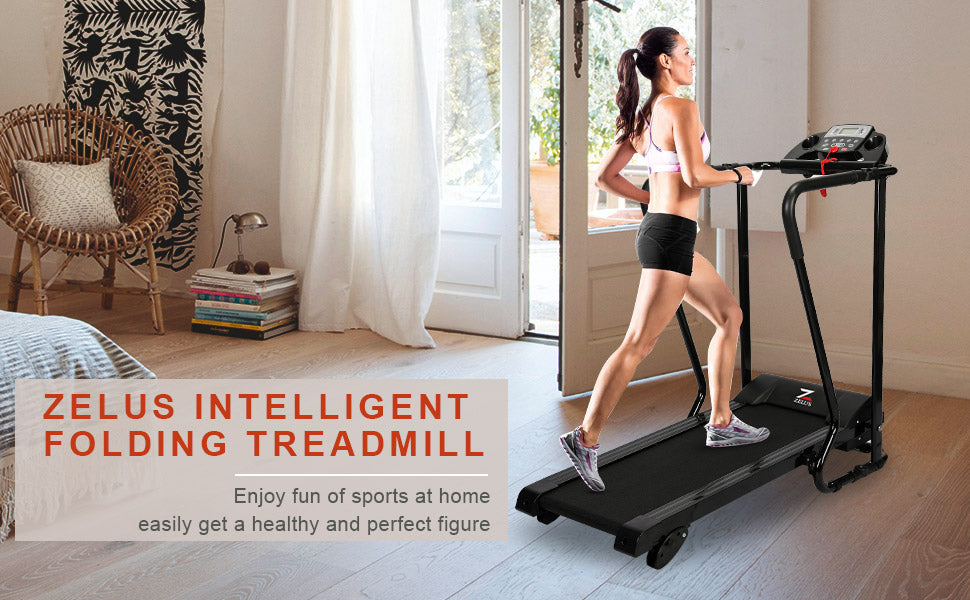 Intelligent Folding Treadmill